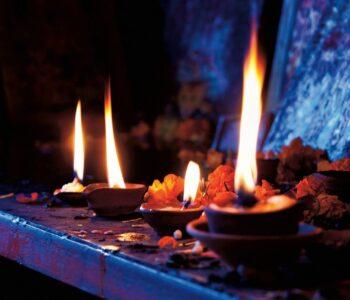 El altar de magia blanca