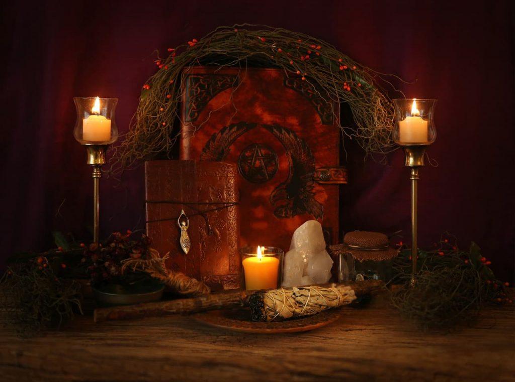 Los hechizos para rituales de magia blanca