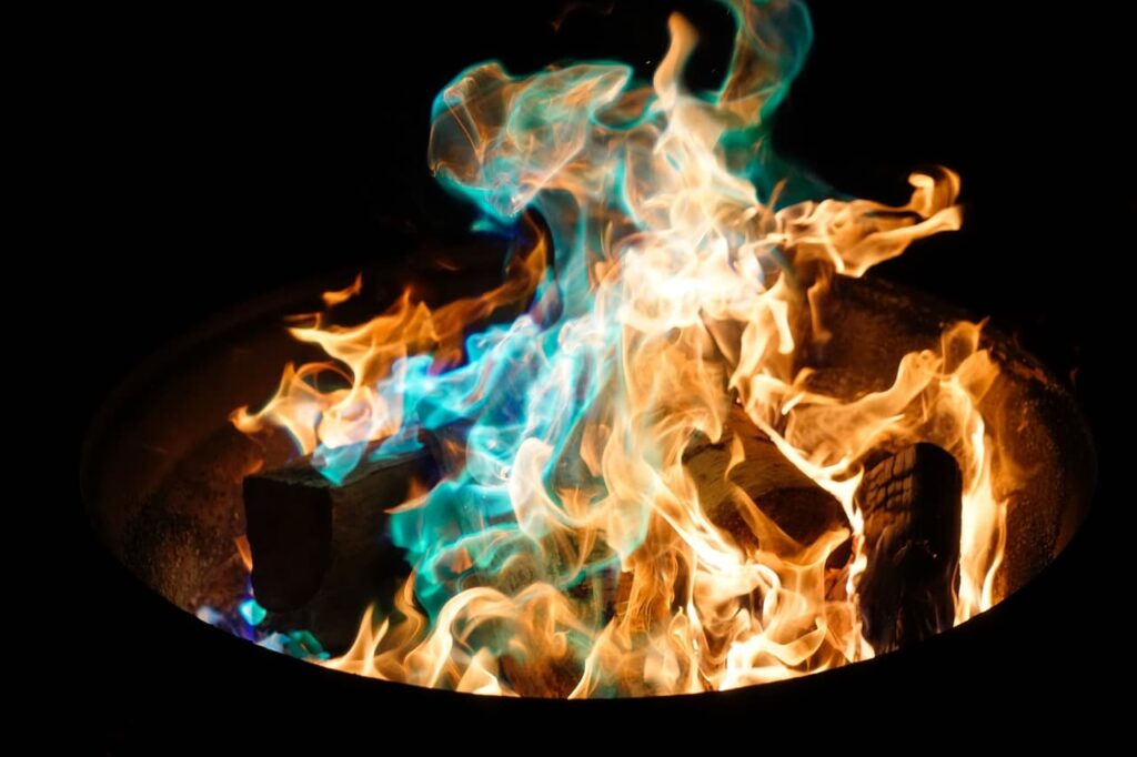 Fuego en el solsticio de invierno